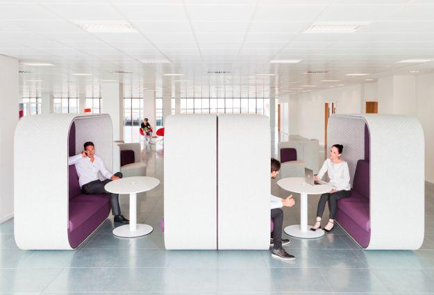 Alcove réunion connectée Cocoon Boss Design