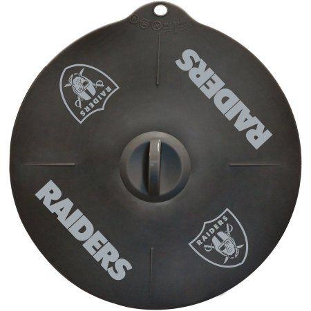 NFL Oakland Raiders Silicone Lid, Multicolor