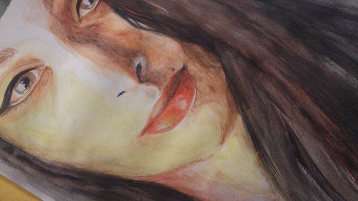 Failed portrait/more practice by DarwiO