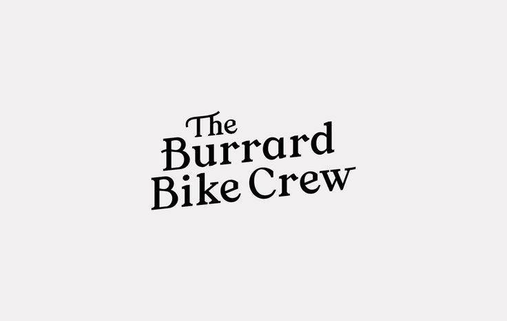 THE BURRARD BIKE CREW on Behance