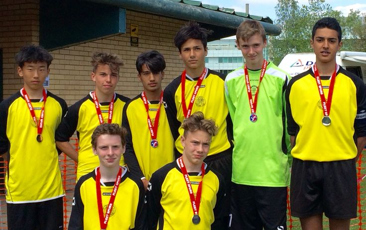 Fleet Spurs U15s runners up. May 2016