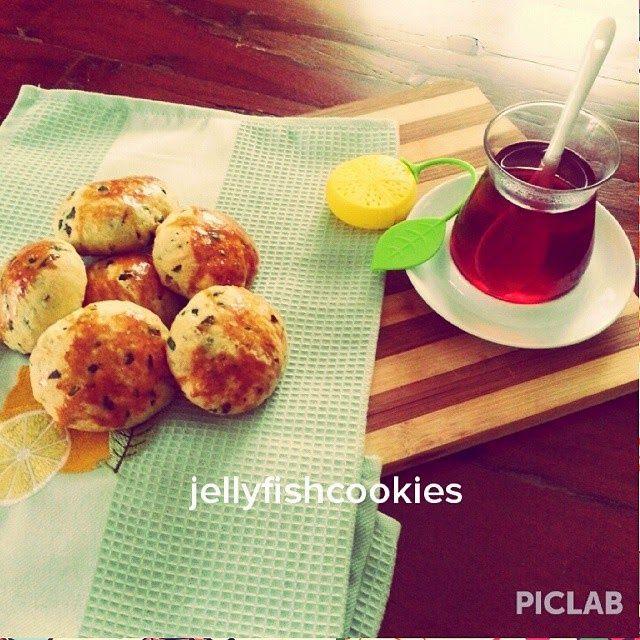 jellyfish cookies: POĞAÇA  TARİFİ