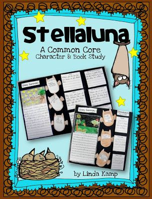 Students give text based evidence and describe how Stellaluna changes throughout the story as well as describe events from the different characters' point of view. Includes anchor chart ideas, printables, and literacy centers $