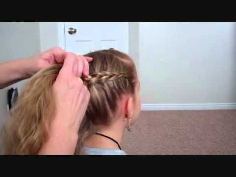 Hunger Games Hairstyle: How to do a Y Dutch Braid