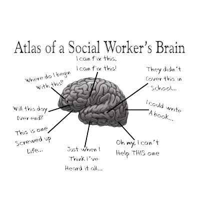 What is the difference between a social worker and a psychologist?
