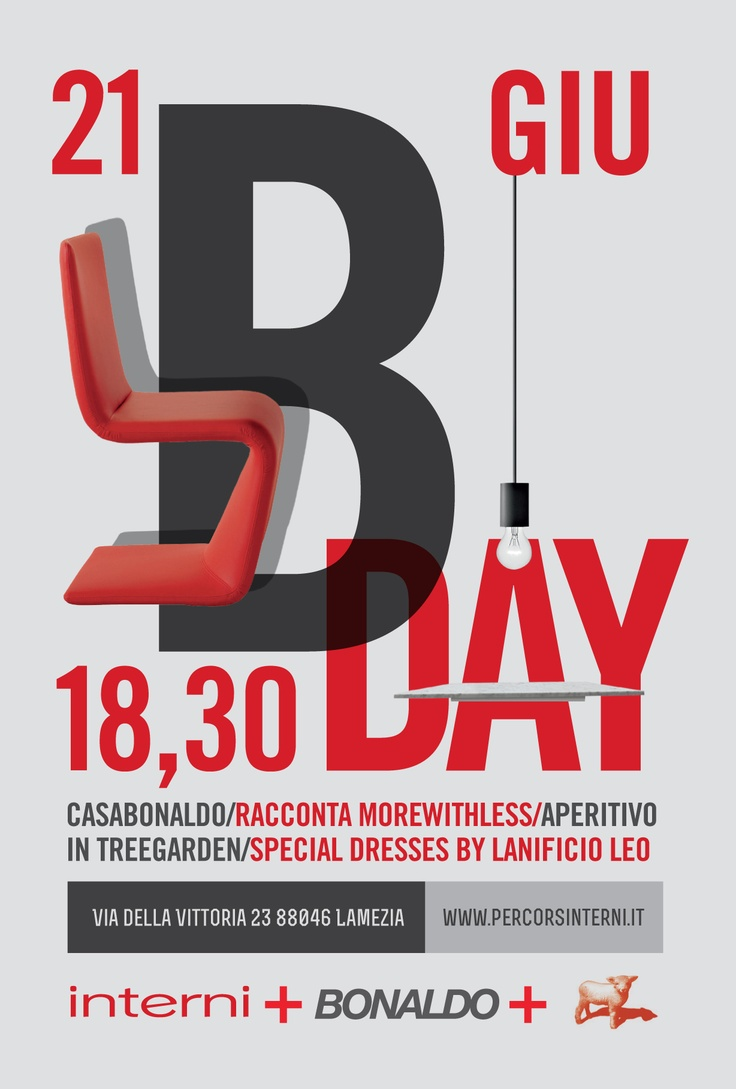 Interni B-Day: una serata per scoprire il mondo Bonaldo   Interni Percorsi d'Arredamento