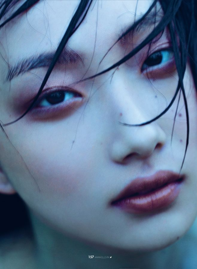 Yue Ning by Jumbo Tsui for Elle Vietnam, August 2014