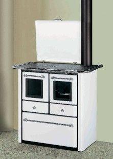 LINCAR GAIA 138 V - Litinová kuchyňský sporák na tuhá paliva