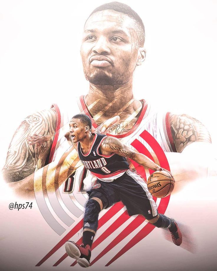 A break from the NFL team series. Here's one for Rip City and Damian Lillard. @damianlillard @trailblazers @blazerdancers