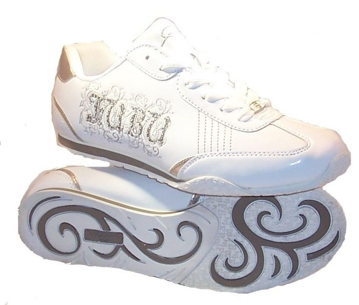 NEW WOMENS FUBU FASHION SNEAKER LOW PROFILE WHITE PEWTER STYLISH SHOE SIZE 9  #fubu #FashionSneakers
