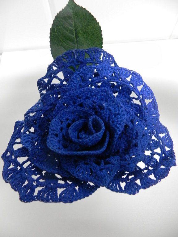 111 besten crochet flowers Bilder auf Pinterest | gehäkelte Blumen ...