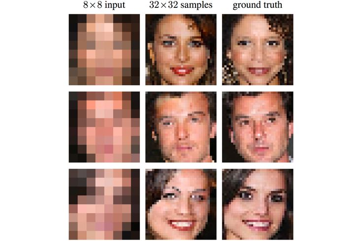 Google uses AI to sharpen low-res images