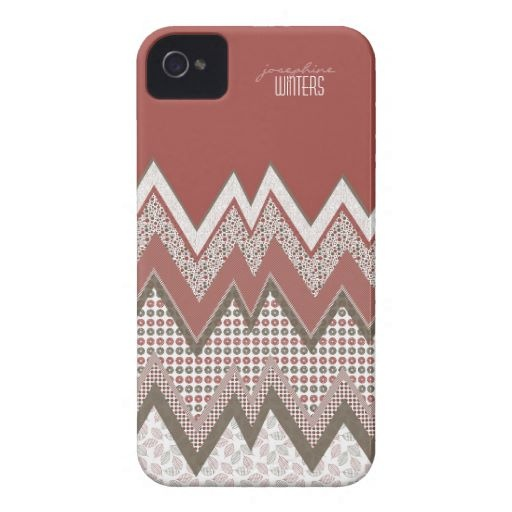I love zigzag! iphone 4 case-mate case