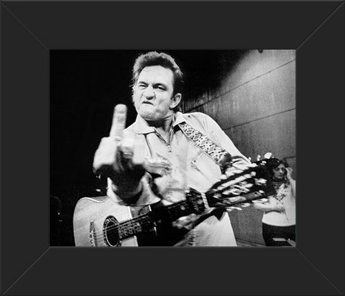8x10 poster print glossy framed johnny cash live innerwallz http www amazon