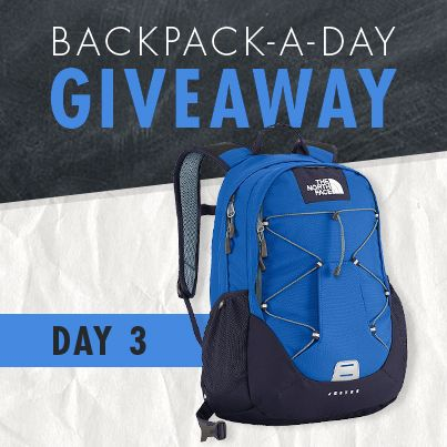 Backpack-A-Day Giveaway- Day 3