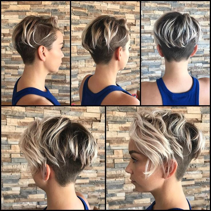 """550 Likes, 36 Comments - Vero Beach Hair Stylist (@thisgirlmichele) on Instagram: """"Boom!! Seriously, perfect!! She went for it for it with this hot #undercut!! @sarah_louwho…"""""""