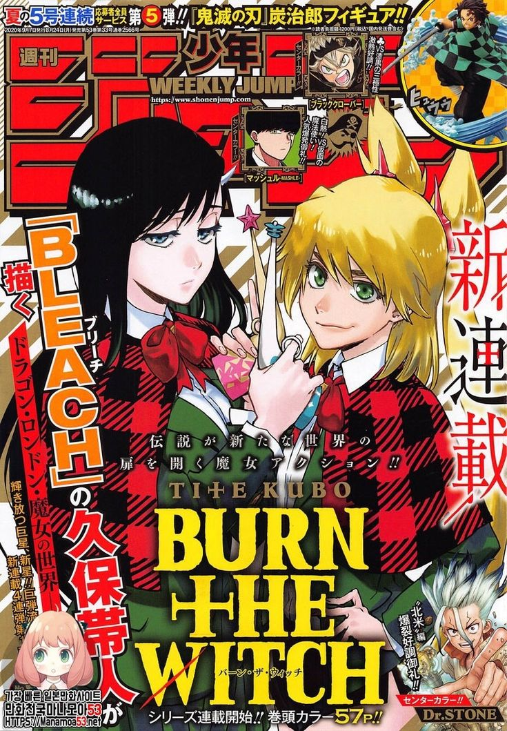 BURN THE WITCH Chapter 01 in 2020 Witch manga, Manga