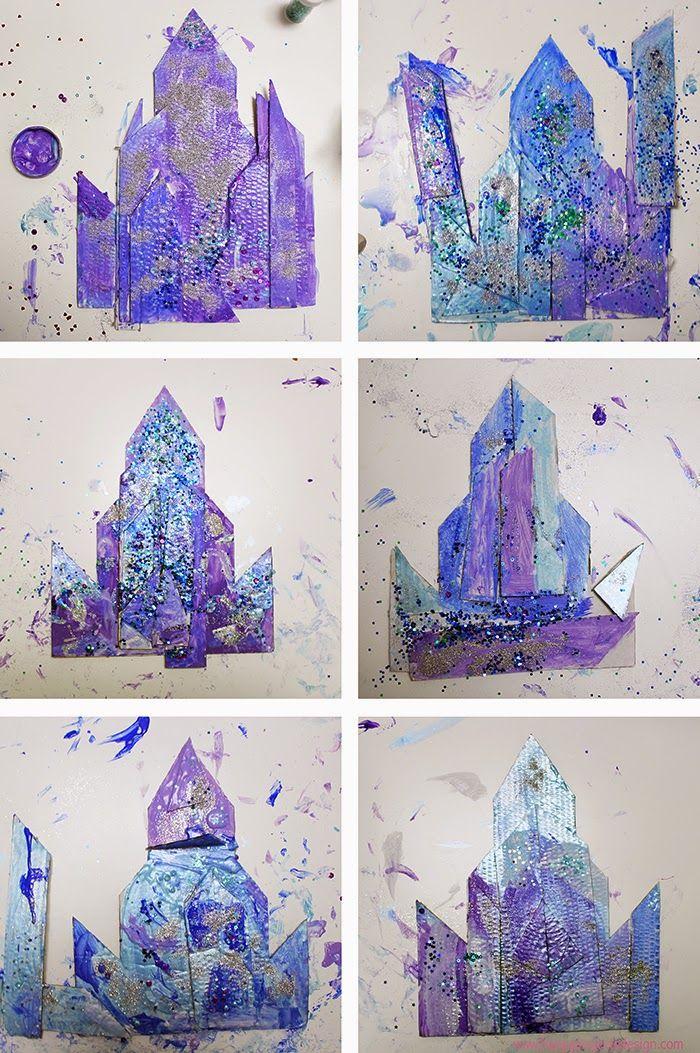 Ms de 25 ideas increbles sobre Castillo frozen en Pinterest