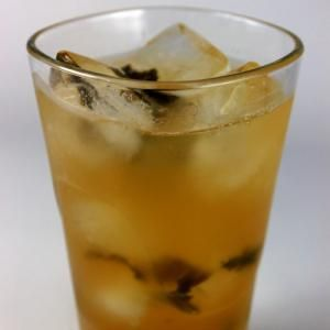 An image of a Mint Arnold Palmer (lemonade-iced tea). - Lindsey Goodwin