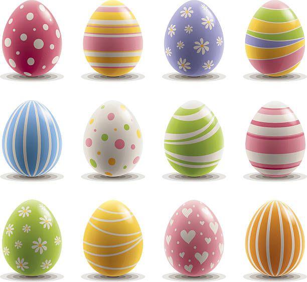 coole Ostereier zum Osterfest bemalen | Eier, Ostern und Basteln