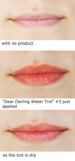 """Rosalie & Violetta: Etude House """"Dear Darling Water Tint"""" #3  #etudehouse #beauty #kbeauty #korea #brand #cute #orange #liptint #water #lip #lipgloss #makeup #cosmetic"""