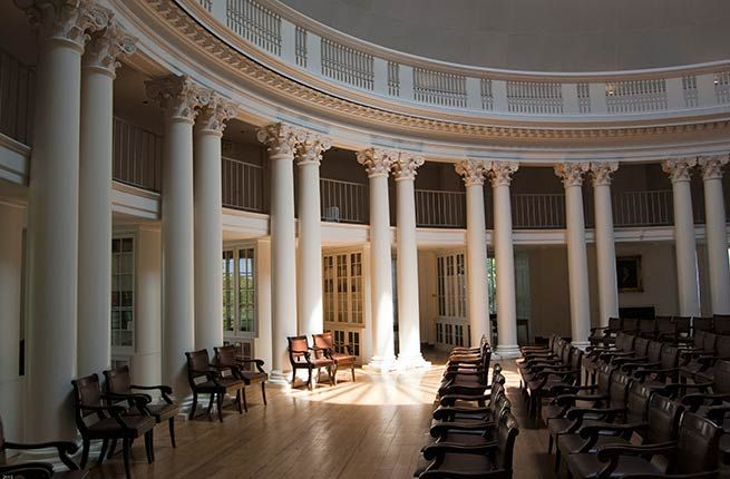 15 Amazing University Campuses You Need to Visit University of Virginia