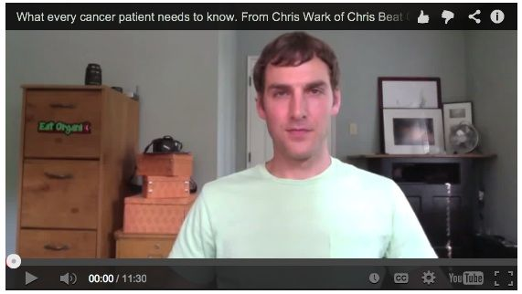 Watch this video from chemo free cancer survivor. What every cancer patient needs to know.   http://www.chrisbeatcancer.com/what-every-new-cancer-patient-needs-to-know/