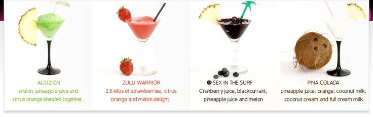 Frozen cocktail machine hire - for a real fruit daiquiri, slushie or cocktail machine