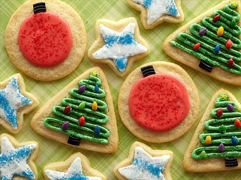 Iced Sugar Cookies at Trisha's  Trisha's family makes baking and icing sugar cookies a social occasion.
