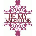 split be my valentine damask