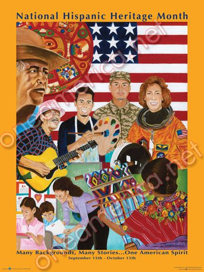 National Hispanic Heritage Poster.indd | School Counseling ...