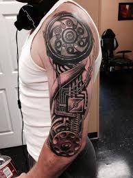 Výsledok vyhľadávania obrázkov pre dopyt man sleeve tattoo robotic