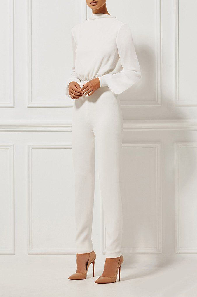 Misha Collection - Shanina Pantsuit - Milk