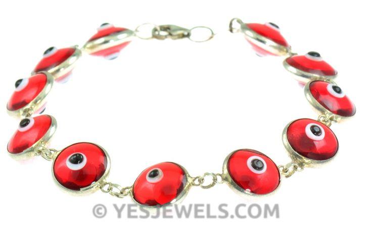 #red #evileye #bracklet