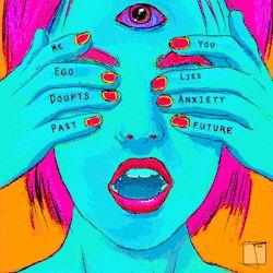 Resultado de imagem para psicodelic eyes