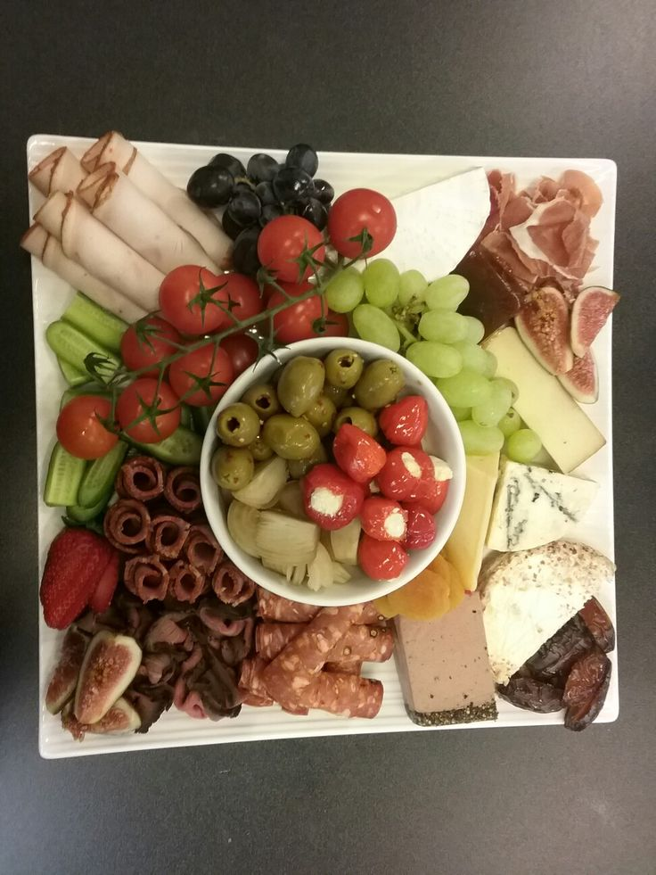 Antipasto platters with such variety, no two are ever the same...