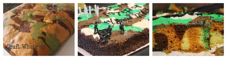"Pin It  Haven't you ever wanted to ask your party guests:  ""Chocolate or Camouflage?""  It's pretty fun!    My son, Nicholas, turned seven la..."