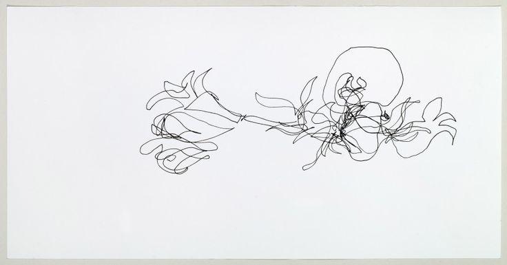 Lorenzo Nassimbeni St.Joseph's Lily 1 2010 Indian Ink on paper_ (28)