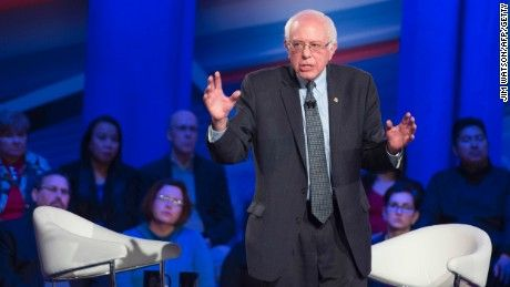 Bernie Sanders said Tuesday that he clearly needs a strong voter turnout to win in Iowa on Monday, but he has no expectation of reaching the high-water mark set by then-Sen. Barack Obama in 2008.