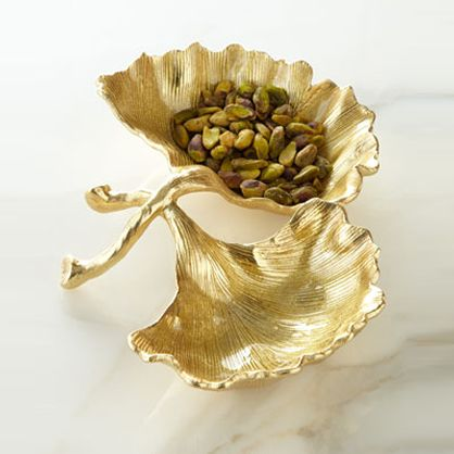 Gifts for the Home: Gold Leaf Dish
