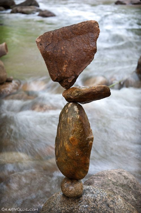 the amazing rock balancing of Michael Grab. Done with gravity alone