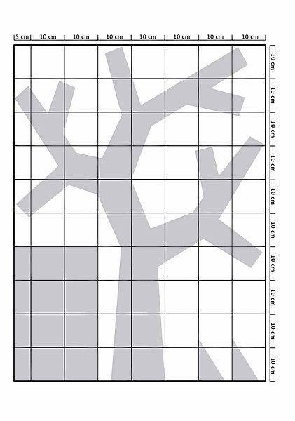 Paso 1:  Sobre papel hace un plano a escala del perchero que querés. Tené en cuenta una base y unos triángulos para pegar a los costados que sirviendo como soporte.