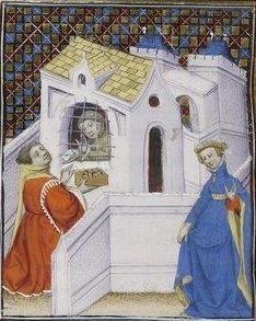 Giovanni Boccaccio, De Claris mulieribus; Paris Bibliothèque nationale de France MSS Français 598; French; 1403, 155v. http://www.europeanaregia.eu/en/manuscripts/paris-bibliotheque-nationale-france-mss-francais-598/en