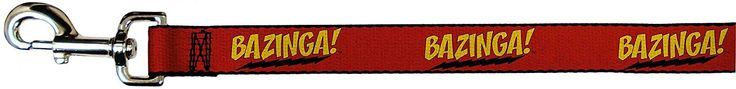 Big Bang Theory TV Series Bazinga Fun Animal Pet Dog Cat Leash * More info could be found at the image url.