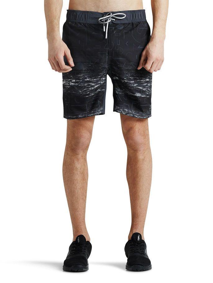 Photoprint swimshorts in asphalt   JACK & JONES #swimwear #swim #summer #menswear