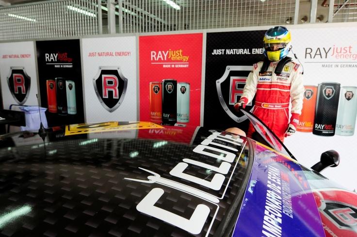 Ciclotte at Ferrari Challenge Spain