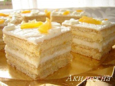 Пирожное «Солнечные лучи»