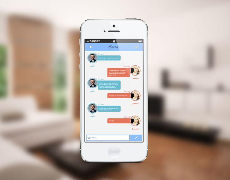 Convo' - Message App Concept