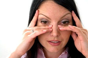 Have a congested sinuses or a sinus headache? Here are pressure points that will help alleviate the pain.
