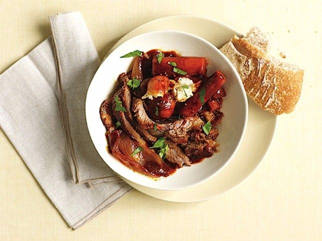 Slow-Cooker Coffee-Braised Brisket With Potatoes and Carrots-Tasty ...